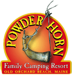Family Camping, Old Orchard Beach Maine - Powderhorn Campground